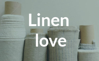 How is linen fabric made?