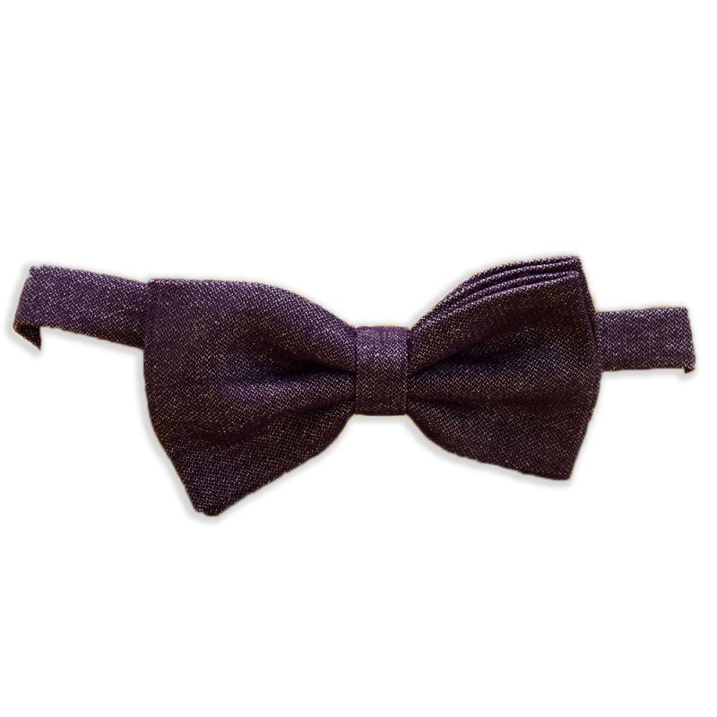 recycled bow tie purple