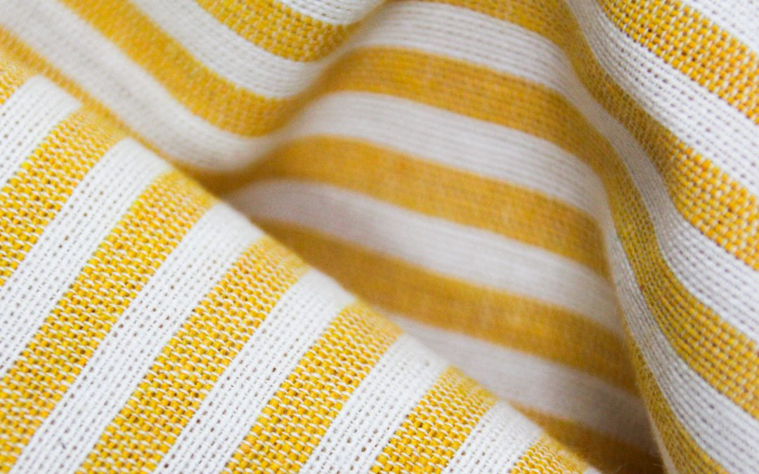 New in our shop: colourful stripes for the most beautiful sustainable clothing!